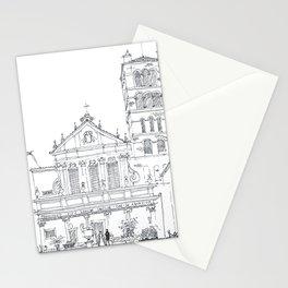 Basilica di Santa Cecilia in Trastevere Stationery Cards