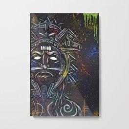 Mayanz Metal Print