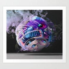 Boltzmann Brain Art Print