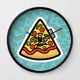 Pizzuminati Wall Clock