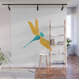 Origami Dragonfly Wall Mural