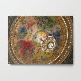 Opera Garnier Paris Metal Print