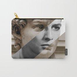 Michelangelo's David & Marlon Brando Carry-All Pouch
