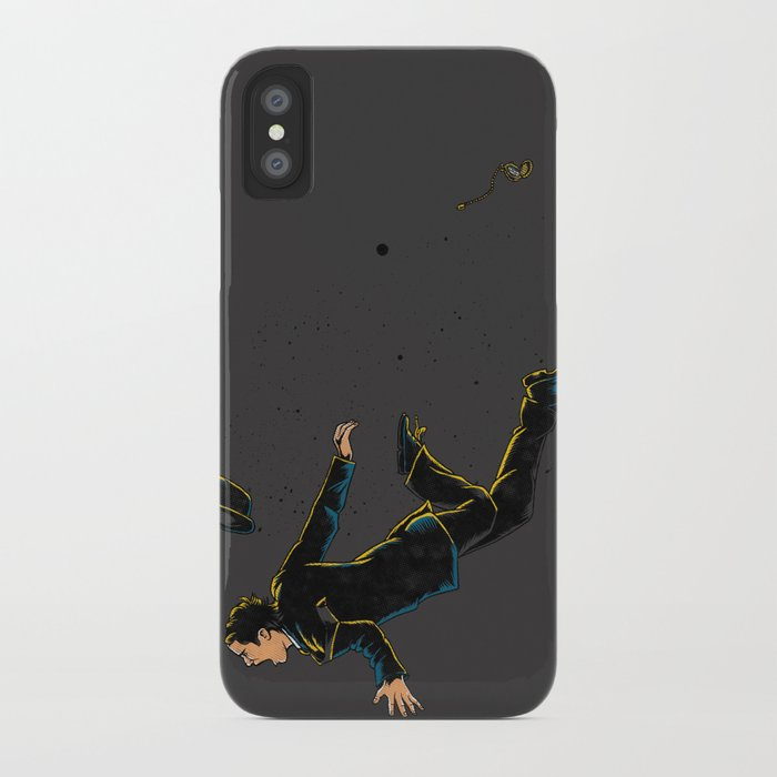 Falling Time iPhone Case