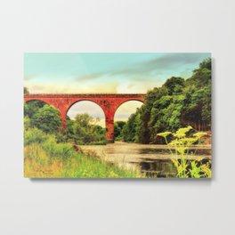 Wetherall Viaduct Metal Print