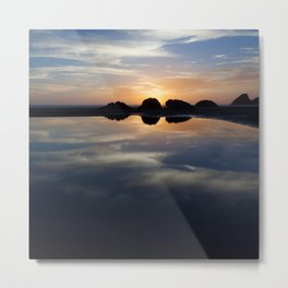 Little Bend Metal Print