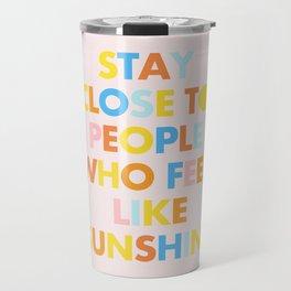 Sunshine People Travel Mug