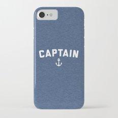 Captain Nautical Quote iPhone 7 Slim Case
