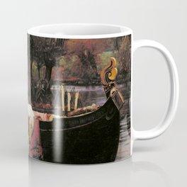 John William Waterhouse The Lady Of Shalott Coffee Mug