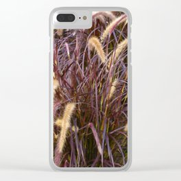 Floral Print 049 Clear iPhone Case