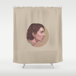 LEAF ME BREATHLESS Shower Curtain