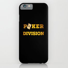 Poker Division Casino Card Gift cards iPhone Case