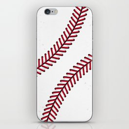 Fantasy Baseball Super Fan Home Run iPhone Skin
