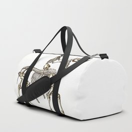 Horse Skeleton & Rider Duffle Bag