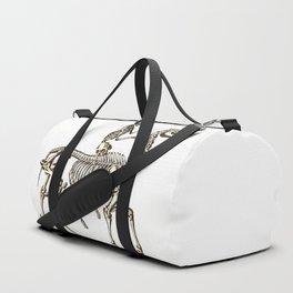Horse Skeleton & Rider Duffle Bag