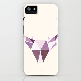 Polydeer in Space iPhone Case