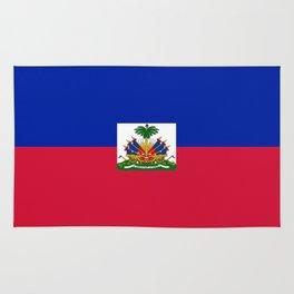 Haiti Flag Rug
