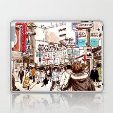 Street In Shibuya Laptop & iPad Skin