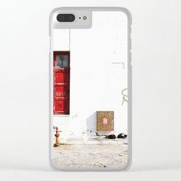 MYKONOS 03 Clear iPhone Case