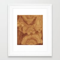 chocolate Framed Art Prints featuring Chocolate by Kimberly McGuiness