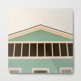 The Beach House Metal Print