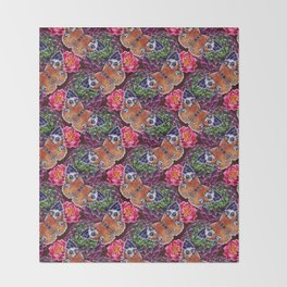 Butterflies Throw Blanket