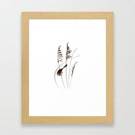 Sea Oats Framed Art Print