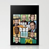gta Stationery Cards featuring Breaking Bad GTA HD  by Akyanyme