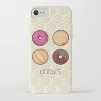 donuts iPhone & iPod Cases featuring Donuts by Monstruonauta