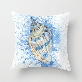 Little Bear Conch Throw Pillow