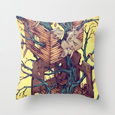 Dream Room Throw Pillow
