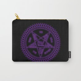 Sebastian Michaelis Sigil Dark (black bg) Carry-All Pouch