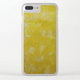 Butternut Clear iPhone Case
