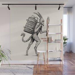 Gruss vom Krampus Wall Mural