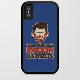 Bacon Beard (men's version) iPhone Case
