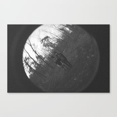 shadow of a doubt Canvas Print