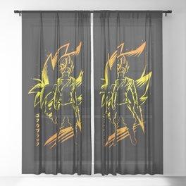 Super Goku Sheer Curtain