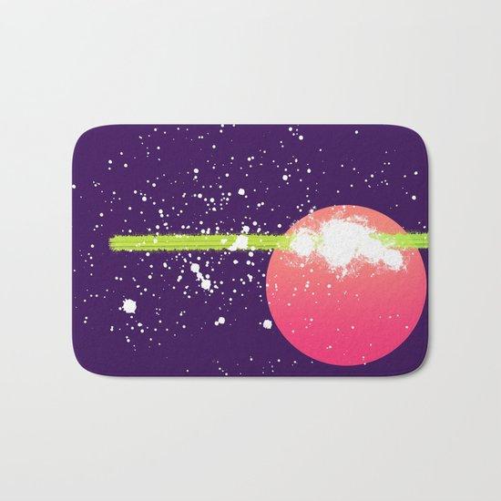 pianeta piatto Bath Mat