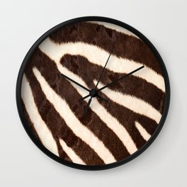 Zebra #society6 #buyart Wall Clock
