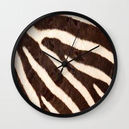 Zebra #decor #society6 #buyart Wall Clock