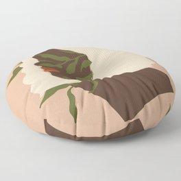 Terracotta Women IV #leaves Floor Pillow