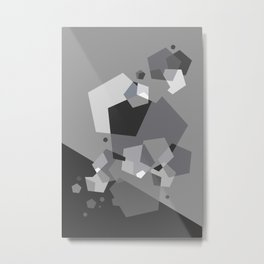 Grayish - Abstract #society6 #decor #buyart Metal Print