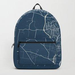 Geelong Blueprint Street Map, Geelong Colour Map Prints Backpack