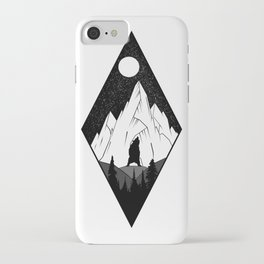 Mountains Ink iPhone Case