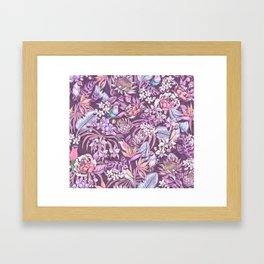 Stand out! (soft pastel) Framed Art Print