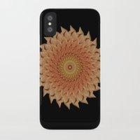 dahlia iPhone & iPod Cases featuring Dahlia by Deborah Janke