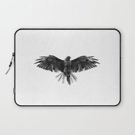 Black Bird White Sky Laptop Sleeve