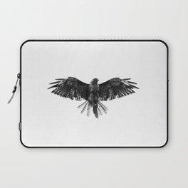 Black Bird White Sky Laptop Sleeve