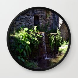 My little Stone House Wall Clock