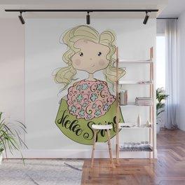 Hello Spring Wall Mural